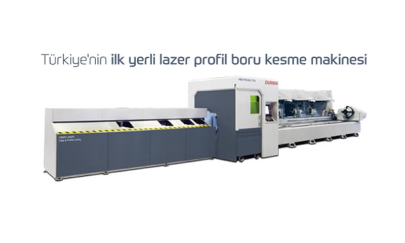 Türkiye'nin ilk yerli Lazer Profil Boru Kesme Makinesi