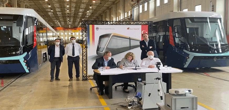 Romanya'nın tramvayları Türkiye'de üretiliyor